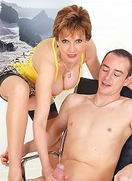 English hot wife