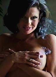 She is all about oral. She loves to smoke - she loves to suck dick. She just needs those luscious lips wrapped around SOMETHING.