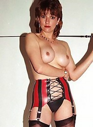 Rubber and nylons milf