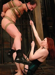 Double Header Two Gorgeous Females Fuck and Control their Men