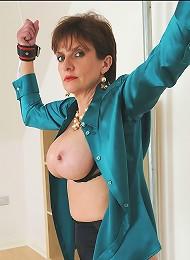 Huge nipples mature